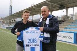 Manix Mandiola ya está en Palma