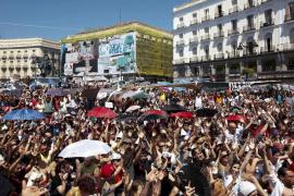 Los 'indignados' de Sol prolongarán la acampada hasta el próximo domingo «como mínimo»