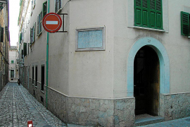 Un francés reclama una casa que fue legada al Ajuntament de Sóller para el Hospicio