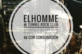 Elhomme presenta en Tunnel su 'cover' del 'Tomorrow never knows'
