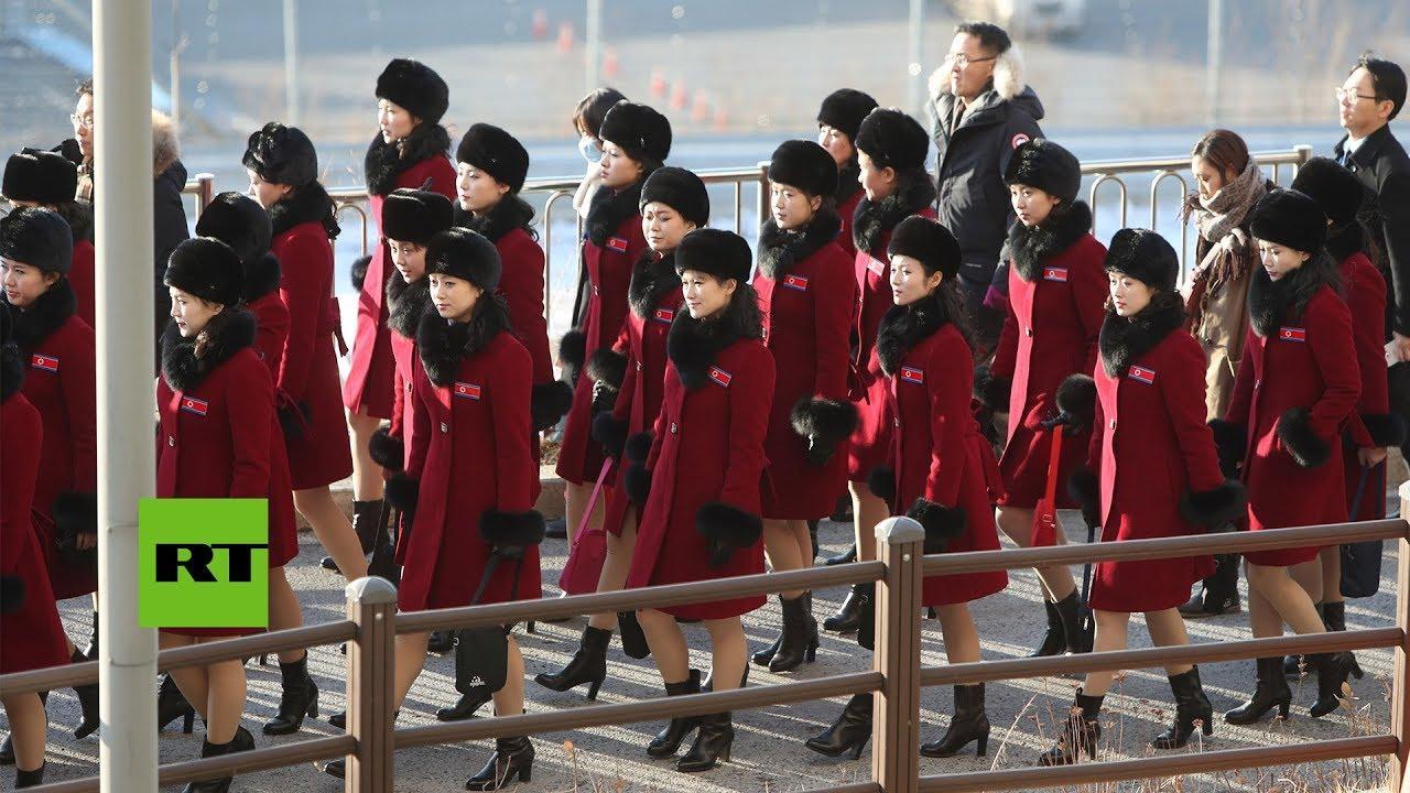 La delegación de Corea del Norte para los JJOO la forman 280 personas, incluida la hermana de Kim Jong Un y 229 animadoras