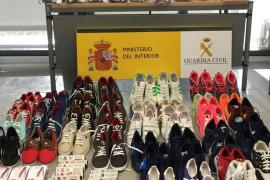 Intervenidos cerca de 300 productos falsificados en el mercadillo de Son Bugadelles