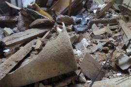 Segundo derrumbe en un inmueble de Palma en 24 horas