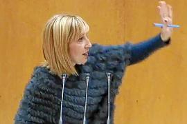 Catalina Soler reflejó el estado de nervios que se vive en Madrid