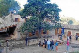 La Serra dels Pinotells y el Puig des Castellet acogen el refugio de Sa Coma d'en Vidal