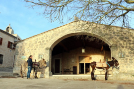 S'Hostatgeria del Castell d'Alaró, el único refugio de Mallorca en una fortaleza