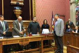 Pere Fuster toma posesión como conseller del Consell de Mallorca