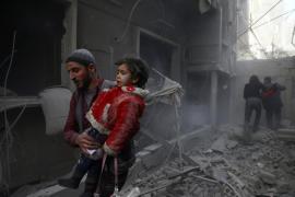 Los bombardeos cerca de Damasco causan al menos 36 muertos y 135 heridos