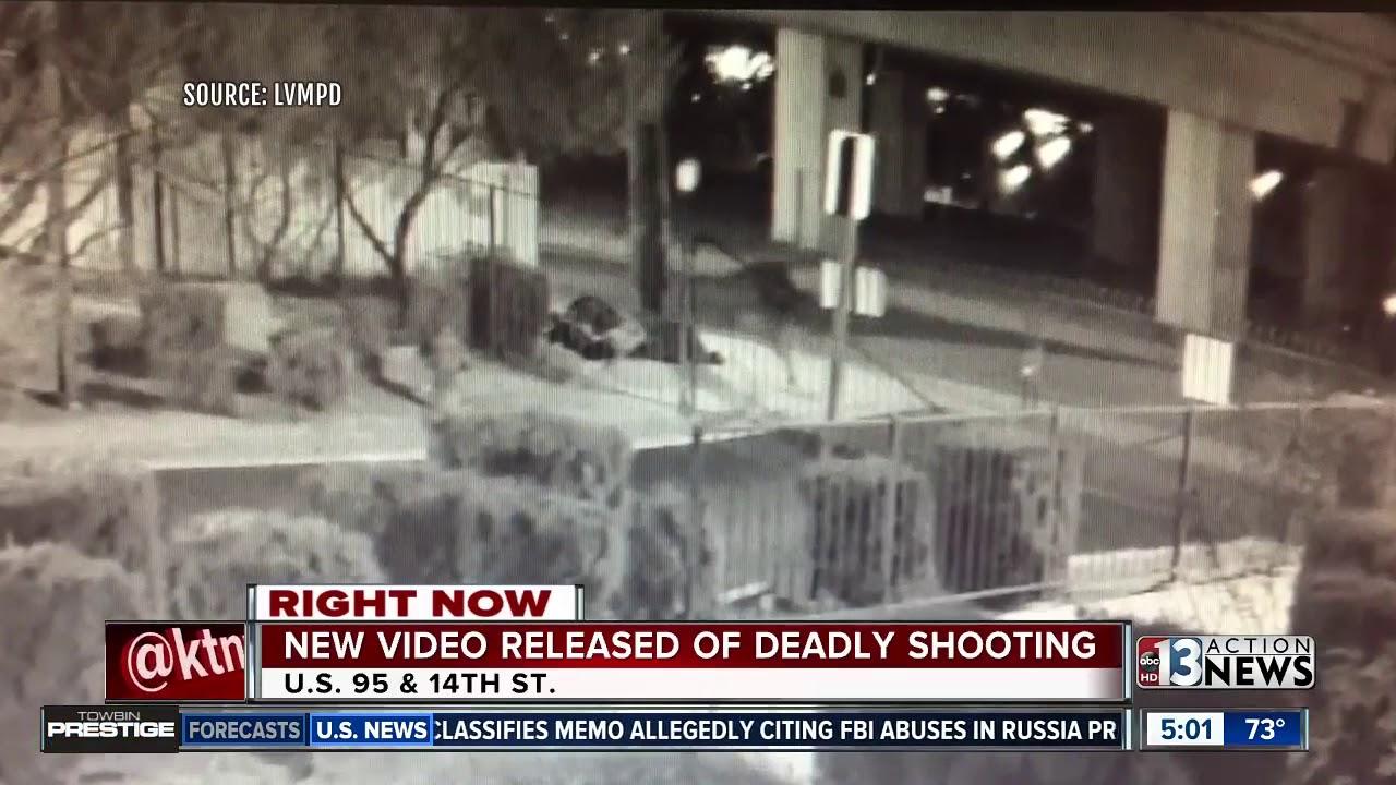 Una cámara de seguridad capta un asesinato en Las Vegas
