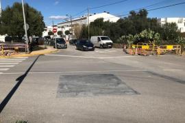 La llegada de la fibra óptica a ses Bardetes cortará la avenida Isidor Macabich el fin de semana