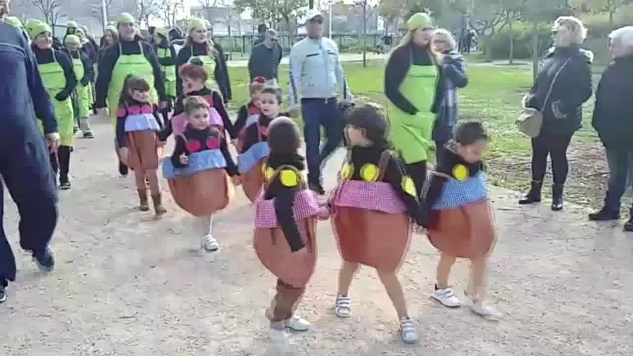 Los escolares de Mallorca celebran el Dijous Llarder luciendo sus disfraces