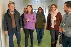 Armengol anuncia que el nuevo TAC de Formentera estará operativo en junio