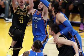 Álex Abrines, sobre los playoffs de la NBA: «Tenemos una oportunidad bonita de hacer algo grande»