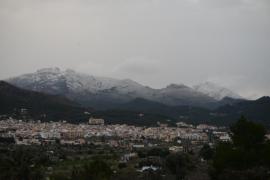Nieva sobre nevado en Mallorca