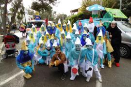 Carnaval en la Platja de Palma... a pesar del frío