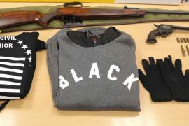 La Guardia Civil detiene a los autores de varios robos con arma de fuego en Calvià