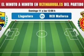 Llagostera-Real Mallorca, en directo