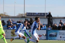 Un gol de Nino en el descuento impide la victoria del Atlético Baleares