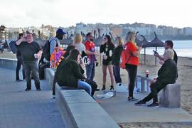 El Pacte quiere adelantar el refuerzo policial de la Platja de Palma a marzo