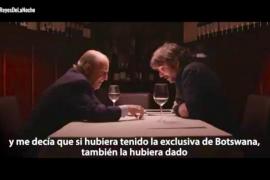 El Rey Juan Carlos le cuelga el teléfono a Jordi Évole