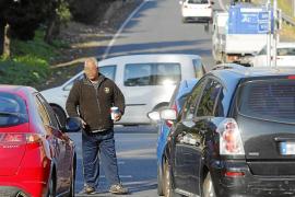 Mendigos al servicio de clanes rumanos toman los semáforos de Palma