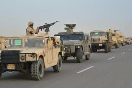 Egipto neutraliza a 28 supuestos terroristas y arresta a 126 en el Sinaí