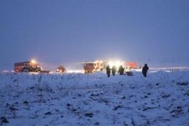 Encontradas las dos 'cajas negras' del avión Antonov siniestrado el domingo cerca de Moscú