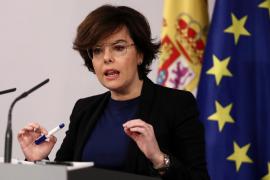 Sáenz de Santamaría indica que si Puigdemont respeta a Cataluña debe permitir otro presidente