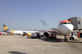 Aterrizaje de emergencia en Son Sant Joan por el parto de una mujer