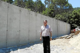 Un nuevo depósito de agua en Biniamar pondrá fin a los problemas de suministro