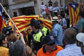 Miembros del Círculo Balear se enfrentan a vecinos de Sineu en un homenaje a Jaume II