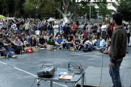Los 'indignados' comienzan su tercera semana de acampada en Palma