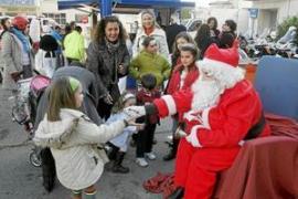 Son Dureta celebra su encuentro navideño con la participación de motoristas y muchas actividades
