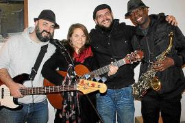 Exposición pictórica y actuación musical en Art Mallorca