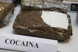 Desmantelan una red que iba a distribuir cocaína colombiana en Mallorca
