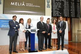 Melià Hotels International inicia una nueva era con el toque de campana en la Bolsa