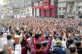 Más de 120 muertos en choques entre policías y manifestantes sirios