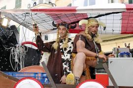 Indignación en Manacor por el premio a una comparsa de vikingos que «bebían y fumaban»