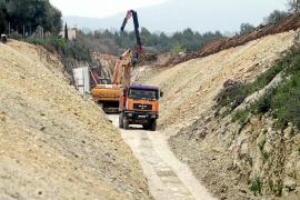 Las obras del tren de Artà se ralentizan por el impago del Govern a las constructoras