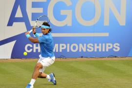 Nadal vence a Ebden y se mete en tercera ronda de Queen's