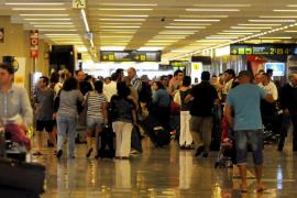 Récord de pasajeros en los fines de semana de junio en Son Sant Joan por el turismo alemán