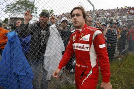 Alonso: «Button ha medido mal y  me llevé la peor parte»