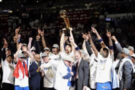 Los Mavericks se proclamaron nuevos campeones de la NBA