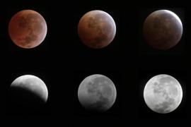 La luna quedará eclipsada por completo el próximo miércoles