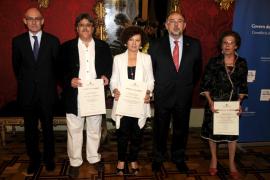 Entrega de las medallas al mérito de la Conselleria d'Educació