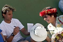 Nadal se prepara en Manacor para defender su título en Wimbledon