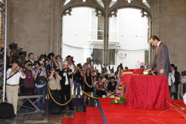 Bauzá jura como presidente de Baleares en presencia de Mariano Rajoy