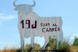 El toro de Son Munar pide la movilización ciudadana para hoy