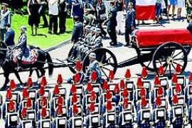 Insultos al Gobierno en el funeral de Pinochet