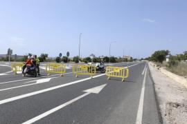 Un triatlón provoca el caos circulatorio en la costa de Son Servera y Sant Llorenç